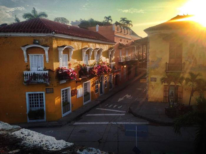 Sunrise in Cartagena