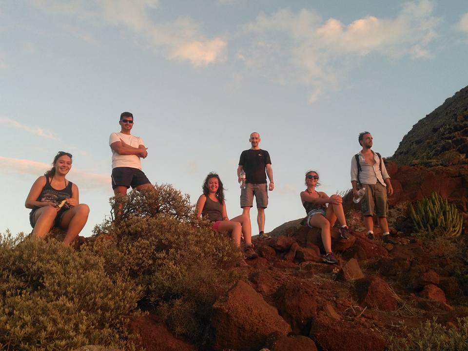 Hike to Punto de Teno in Tenerife. Thanks to Sonja for the photo :-)