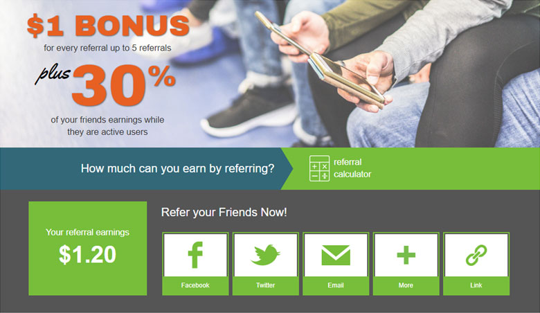 InboxDollars review: InboxDollars referral program