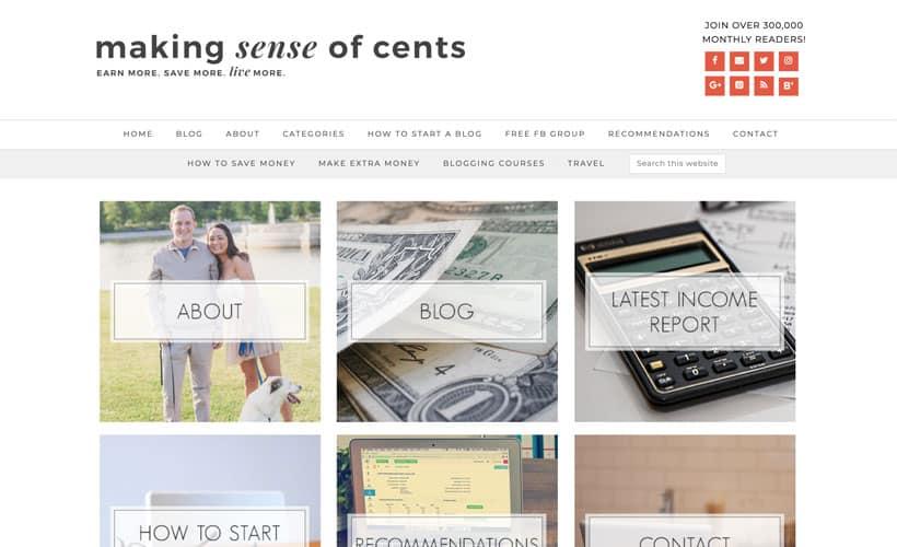 Making Sense of Affiliate Marketing homepage